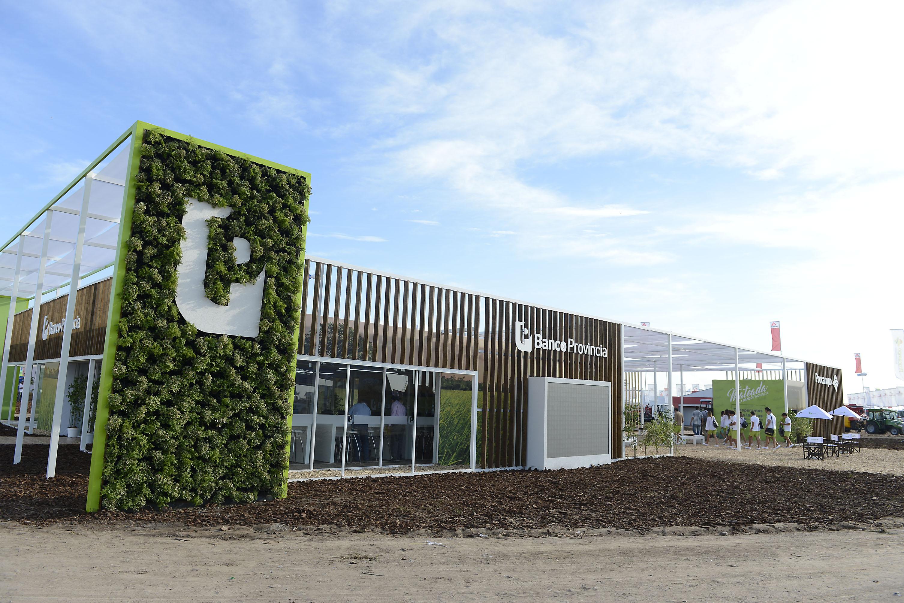 Expoagro Stands : U banco provincia fuerte con el campo expoagro u la
