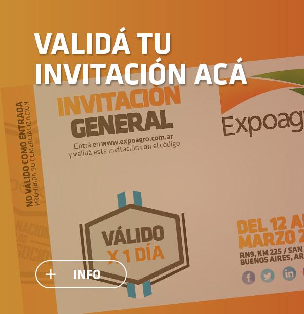 Invitación Expoagro 2019