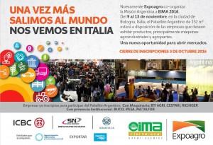 Misión Argentina a EIMA 2016