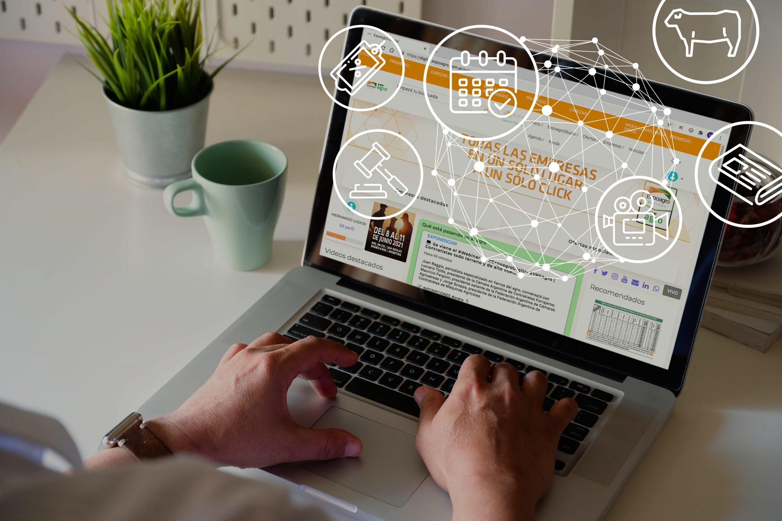 08/03- A partir de mañana, Expoagro Digital YPF Agro online todo el año