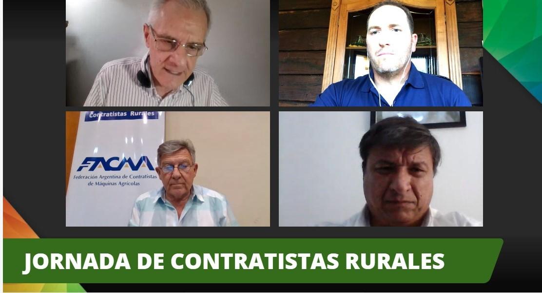 Los contratistas rurales se hicieron escuchar en Expoagro Digital