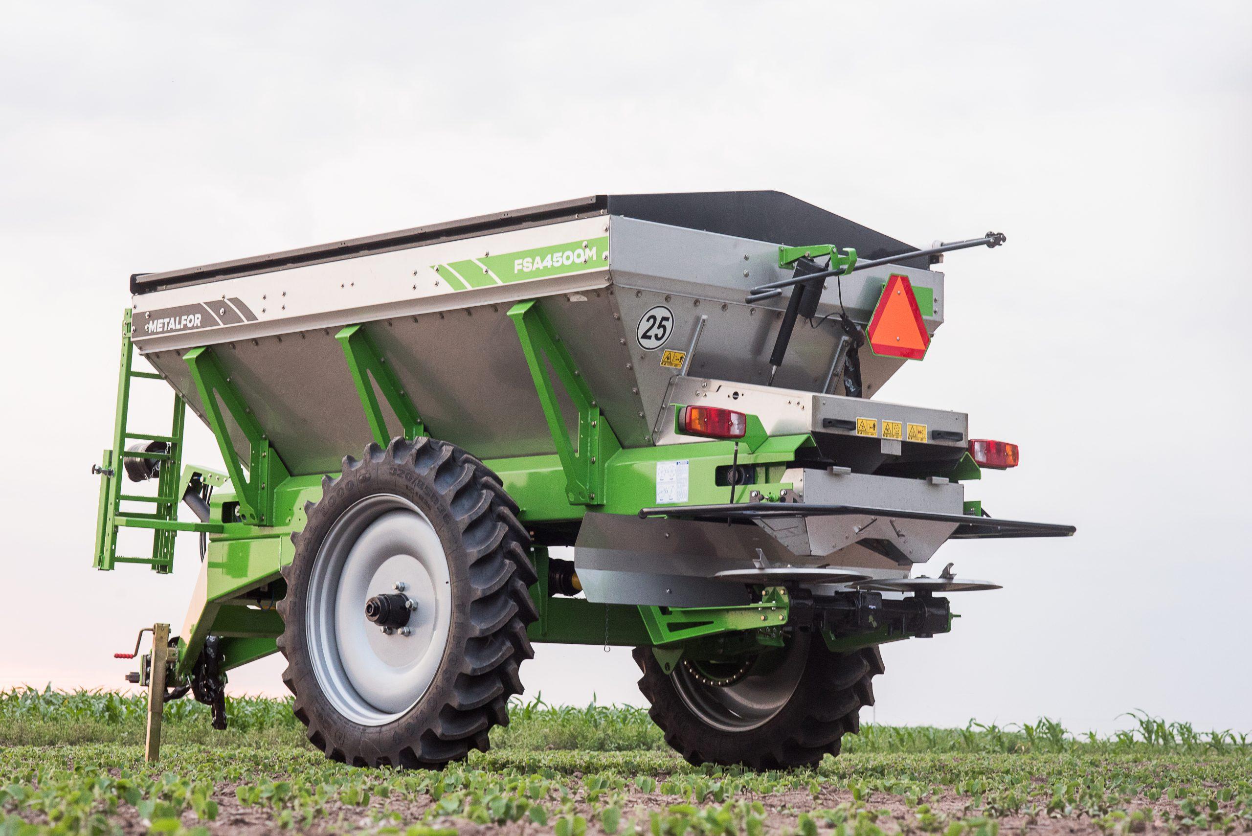 09/02- Metalfor crece en la venta de fertilizadoras